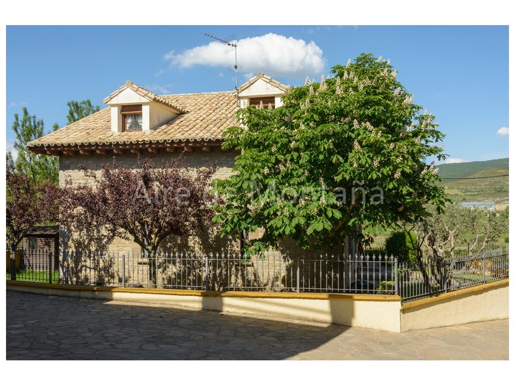Casa r stica de lujo en los pintanos zaragoza aire de - Casas de madera zaragoza ...