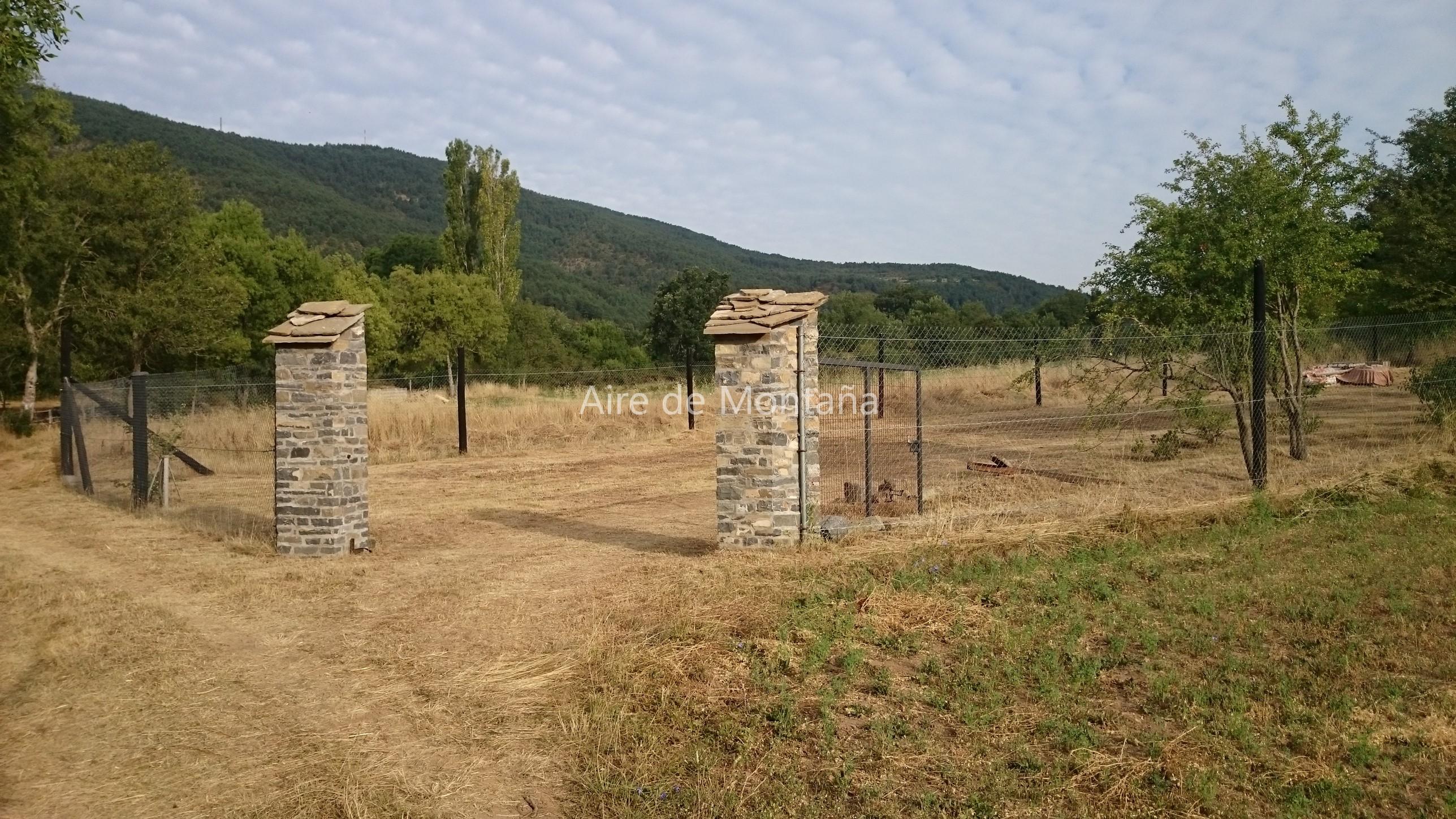 Casa r stica con terreno en castiello de jaca aire de monta a - Casa con terreno ...