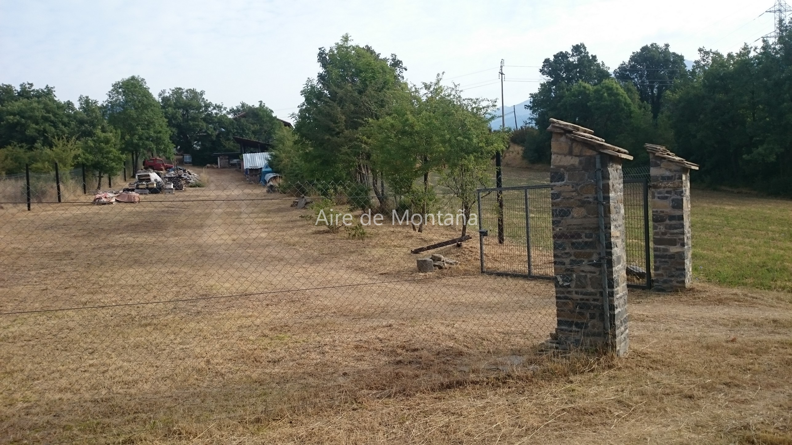 Casa r stica con terreno en castiello de jaca aire de - Casa con terreno ...